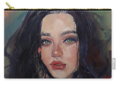 Portrait Demo Two Carry-all Pouch