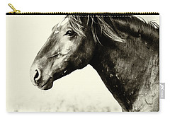 Portrait Carry-all Pouch by Mary Hone