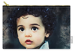 Portrait Of A Child Carry-all Pouch