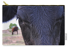 Portrait Of A Cow Carry-all Pouch