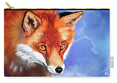Portrait Of A Fox Carry-all Pouch