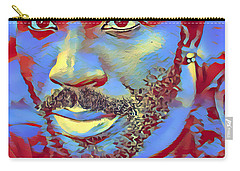 Portrait Of A Man Of Color Carry-all Pouch