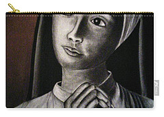 Portrait Of A Nun Carry-all Pouch