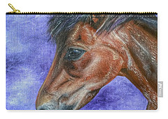 Portrait Of A Pony Carry-all Pouch