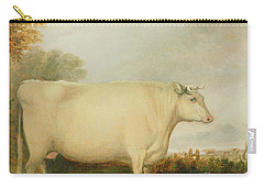 Portrait Of A Prize Cow Carry-all Pouch by John Vine