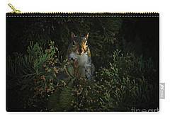 Portrait Of A Squirrel Carry-all Pouch