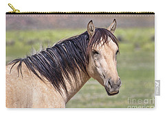 Portrait Of A Wild Horse Carry-all Pouch