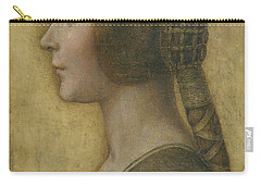 Portrait Of A Young Fiancee Carry-all Pouch