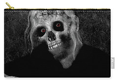 Portrait Of A Zombie Carry-all Pouch
