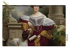 Portrait Of Alida Christina Assink, 1833 Carry-all Pouch
