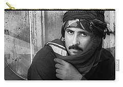 Portrait Of An Arab Man Carry-all Pouch