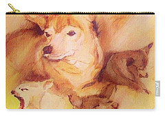 Portrait Of Chi Chi Carry-all Pouch