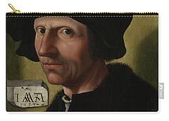 Portrait Of Jacob Cornelisz Van Oostsanen Carry-all Pouch