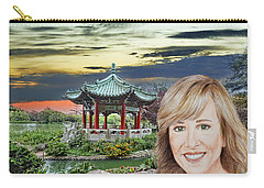 Portrait Of Jamie Colby By The Pagoda In Golden Gate Park Carry-all Pouch