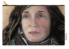 Portrait Of Katy Desmond, C. 2017 Carry-all Pouch