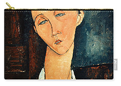 Portrait Of Lunia Czechowska Carry-all Pouch