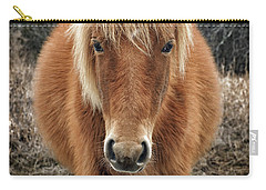 Portrait Of Mieke's Noe'lani Carry-all Pouch