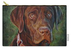 Portrait Of Remington 0094_2 Carry-all Pouch