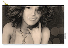 Portrait Of Rose Carry-all Pouch