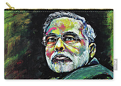 Portrait Of Shri Narendra Modi Carry-all Pouch