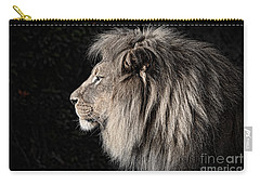 Portrait Of The King Of The Jungle II Carry-all Pouch