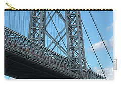 Portrait Of The Williamsburg Bridge Carry-all Pouch