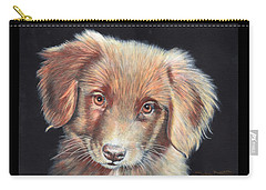 Portrait Of Toby Carry-all Pouch