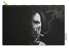 Portrait Of Tom Crean Antarctic Explorer Carry-all Pouch