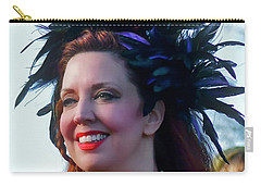 Portrait Of Traci Carry-all Pouch by Kathy Baccari