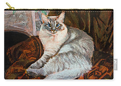 Portrait Of Vera Carry-all Pouch