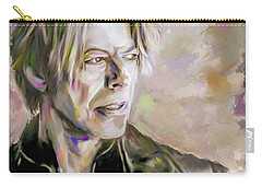Portrait Of Bowie Carry-all Pouch