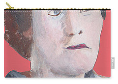 Portrait On Paper 32817 Carry-all Pouch