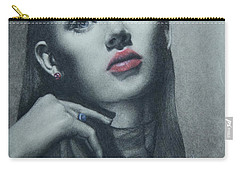 Portrait Study Carry-all Pouch by Dee Dee Whittle