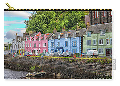 Portree Town On Skye, Scotland Carry-all Pouch