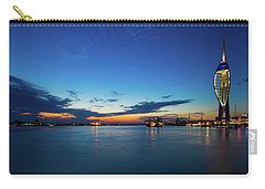 Carry-all Pouch featuring the photograph Portsmouth 2 by Mariusz Czajkowski