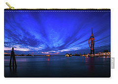 Carry-all Pouch featuring the photograph Portsmouth Blue by Mariusz Czajkowski