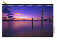 Carry-all Pouch featuring the photograph Portsmouth  by Mariusz Czajkowski