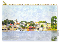 Portsmouth Nh South End Psewc Carry-all Pouch by Jim Brage