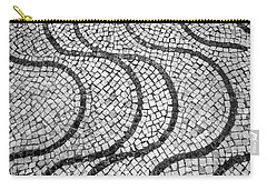 Portuguese Pavement Patterns In Cascais Carry-all Pouch