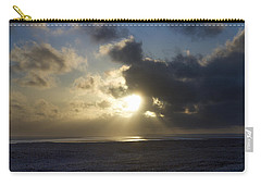 Poseidon Embellished By The Sun Carry-all Pouch