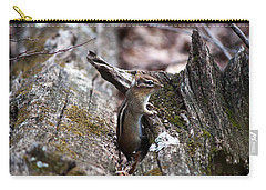 Carry-all Pouch featuring the photograph Posing #2 by Jeff Severson