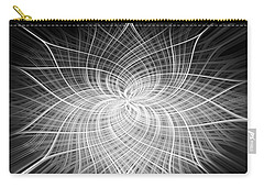 Carry-all Pouch featuring the digital art Positivity by Carolyn Marshall