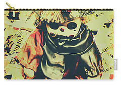 Possessed Vintage Horror Doll  Carry-all Pouch