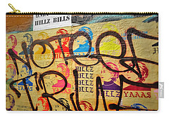 Post No Bills Hillary Clinton  Carry-all Pouch by Funkpix Photo Hunter