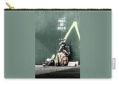 Carry-all Pouch featuring the photograph Post No Bills by Marvin Spates