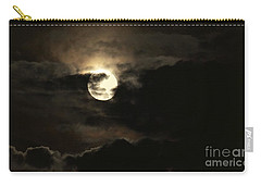 Post Solstice Moon Carry-all Pouch by Angela J Wright