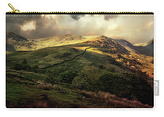 Postcard From Scotland Carry-all Pouch by Jaroslaw Blaminsky