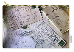 Postcards And Proposals Carry-all Pouch