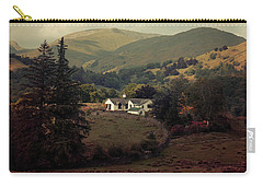 Postcards From Scotland Carry-all Pouch by Jaroslaw Blaminsky