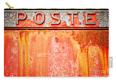 Poste Italian Weathered Mailbox Carry-all Pouch